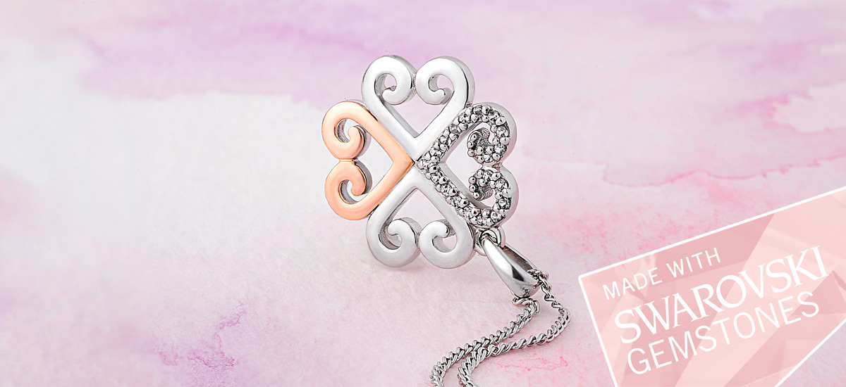 Free Affinity Heart pendant worth £149