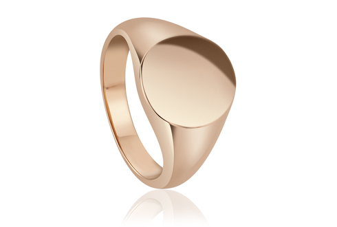 Clogau 1854 Oval Signet Ring