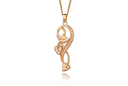 Clogau 1854 Tree of Life Diamond Pendant