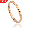 2mm 18ct 1854 Gold Blend Wedding Ring