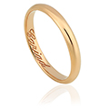 Clogau 1854 18ct Gold 3mm Wedding Ring