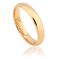 Clogau 1854 18ct Gold 4mm Wedding Ring
