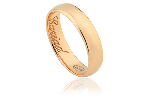 Clogau 1854 18ct Gold 5mm Wedding Ring