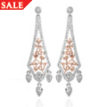 18ct gold Debutante Earrings *SALE*