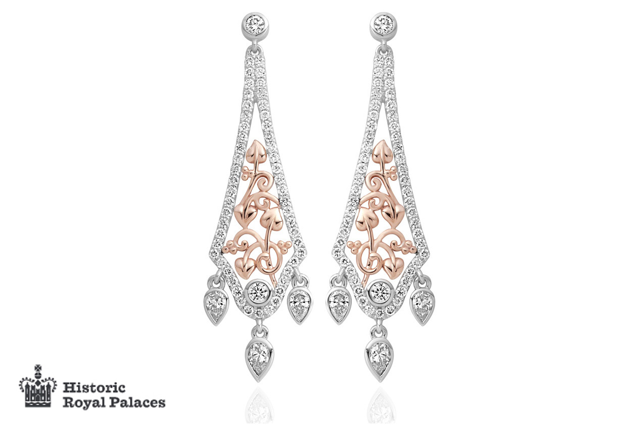 18ct gold Debutante Earrings