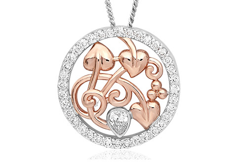 18ct gold Debutante Pendant *SALE*