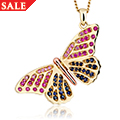 18ct Butterfly Pendant *SALE*