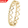 18ct Heart Affinity Stacking Ring *SALE*