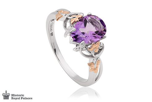 Gold Great Vine Amethyst Ring