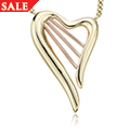 18ct Heartstrings Necklace *SALE*