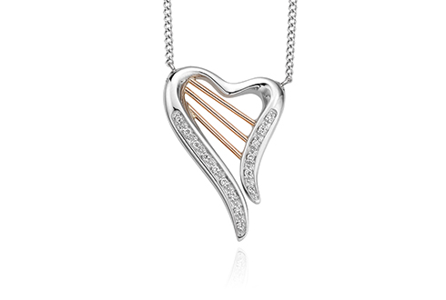 18ct gold Heartstrings Diamond Necklace