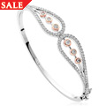 Royal Crown Diamond Bangle