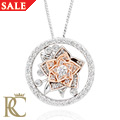 18ct gold Imperial Rose Pendant *SALE*