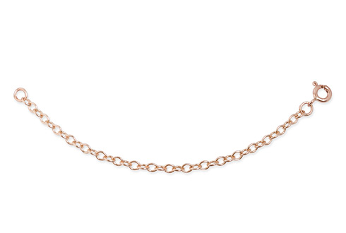 18ct gold Rose Gold 4 Inch Extension Chain