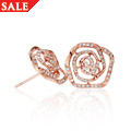 18ct gold Royal Roses Earrings *SALE*