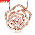 18ct Royal Roses Diamond Pendant *SALE*