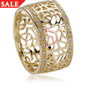 18ct gold Royal Roses Diamond Ring *SALE*