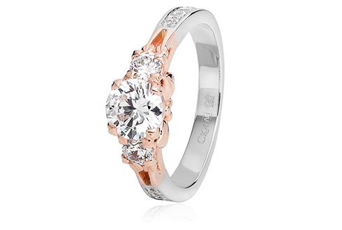 Tree Of Life Engagement Ring