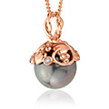 Tree of Life Tahitian Pearl Pendant