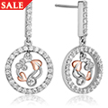 Tree of Life Diamond Earrings
