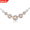 18ct gold Tree of Life Diamond Necklace *SALE*