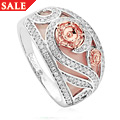 Tudor Rose Pink Opal Ring *SALE*