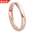 18ct gold Windsor Collection Wedding Ring (3mm)