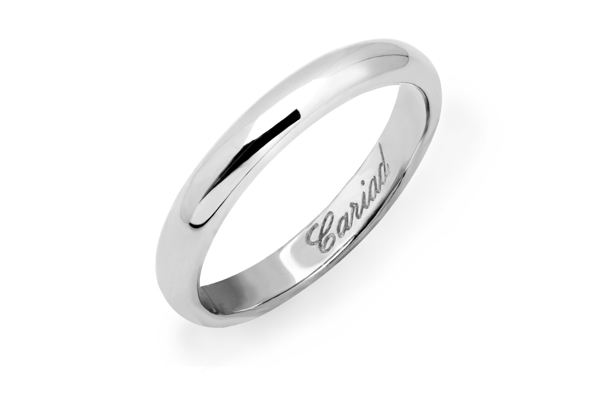 3mm Windsor Wedding Ring