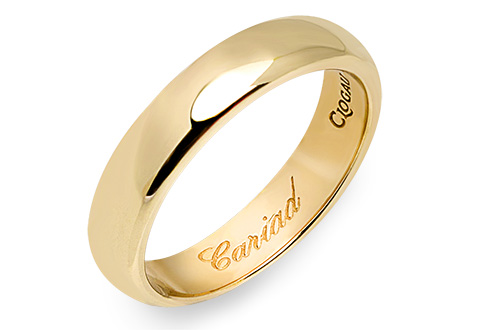 18ct gold Windsor Collection Wedding Ring (4mm)