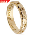 18ct gold Tree of Life Wedding Ring