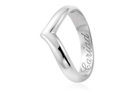 18ct Make A Wish Wedding Ring