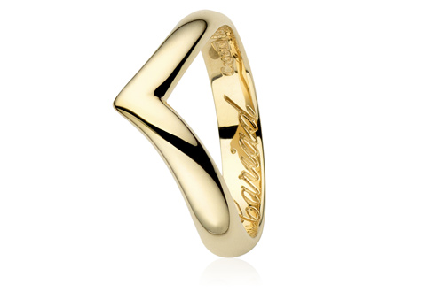 18ct Make A Wish Wedding Ring SALE Clogau Gold