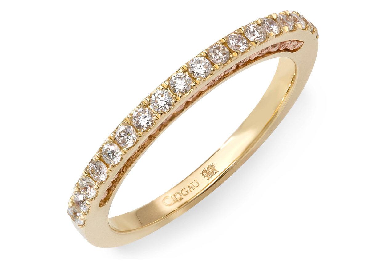 18ct gold Aria Wedding Ring
