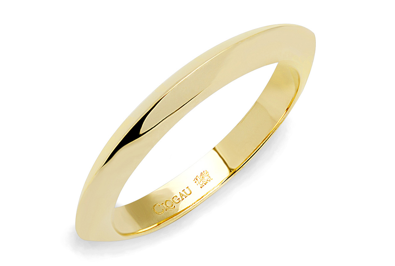 18ct gold Capella Wedding Band