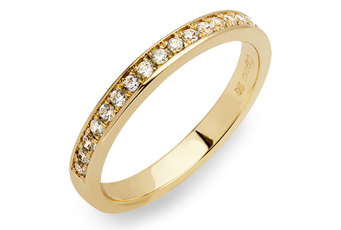 18ct gold Valentina Wedding Ring