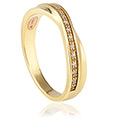 18ct gold Freya Wedding Ring