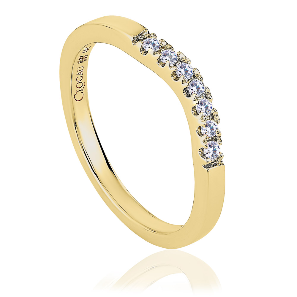 Past Present Future Wedding Ring