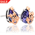 Tree of Life Tanzanite Earrings *SALE*
