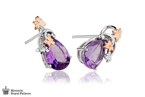 Great Vine Amethyst Earrings *SALE*