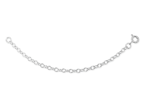 18ct gold White Gold 4 Inch Extension Chain