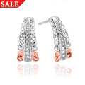 Am Byth Tapered Diamond Earrings *SALE*