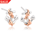 Hope House Anchor Stud Earrings