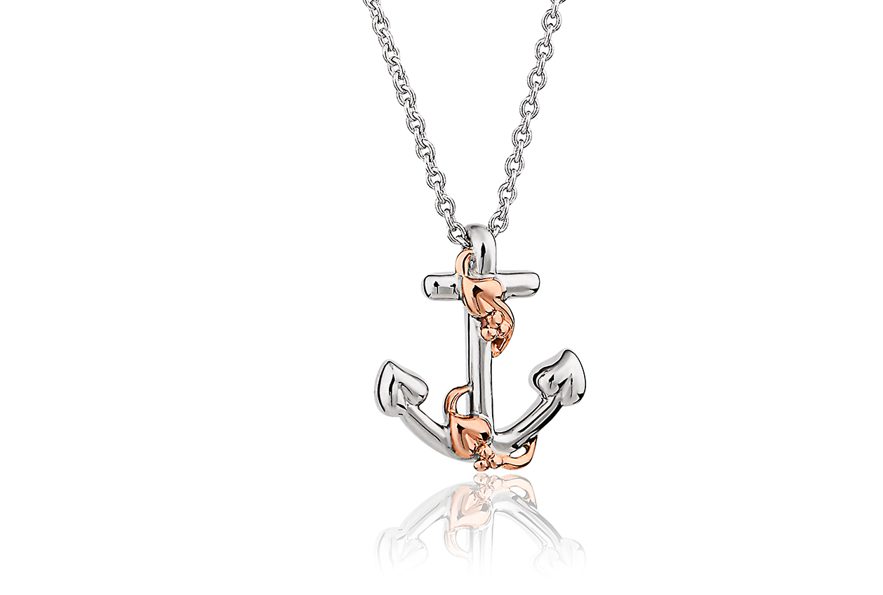 Hope House Anchor Pendant