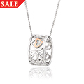 Affinity Heart Barrel Pendant *SALE*