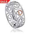 Affinity Heart Band Ring *SALE*