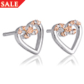 Affinity Heart Stud Earrings *SALE*