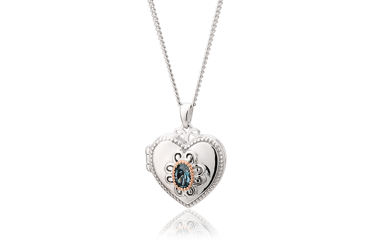 The Two Queens Topaz Locket