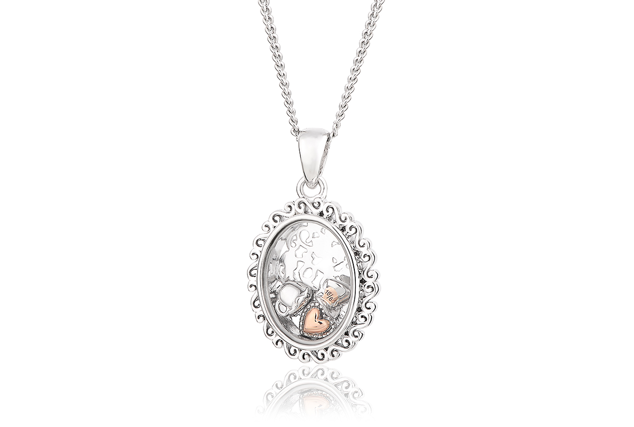 Looking Glass Inner Charm Pendant