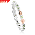Awelon Affinity Peridot Stacking Ring *SALE*