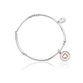 Cariad Morse Code Affinity Bead Bracelet 16-16.5cm